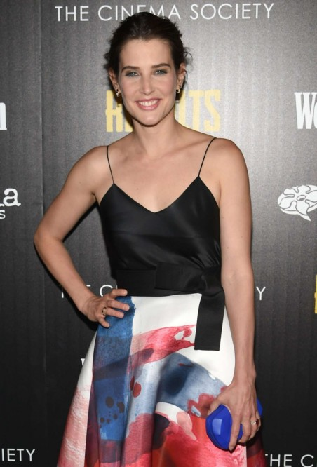 Cobie Smulders Results Premiere In Nyc Fashion