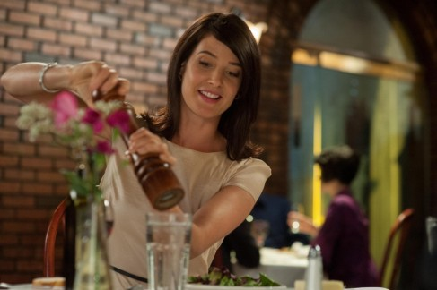 Still Of Cobie Smulders In They Came Together