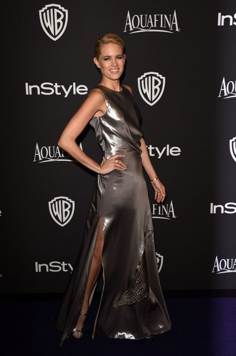 Cody Horn Instyle And Warner Bros Golden Globes Party Cody Horn