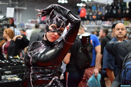 Cosplay Roundup At The New York Comic Con Friday Movie Catwoman Movie