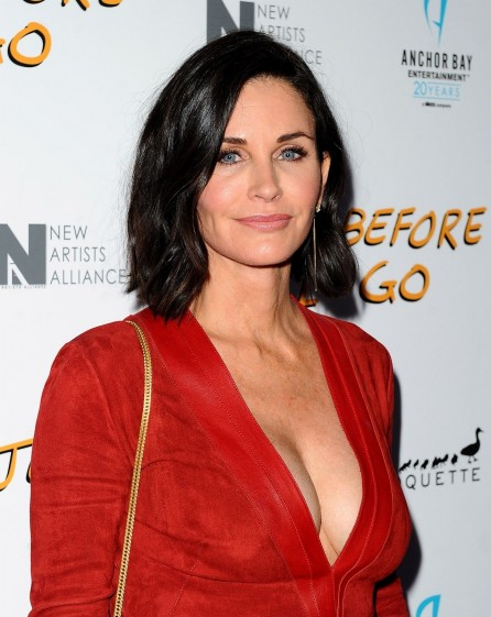 Courteney Cox Just Before Go Premiere In Hollywood Courteney Cox