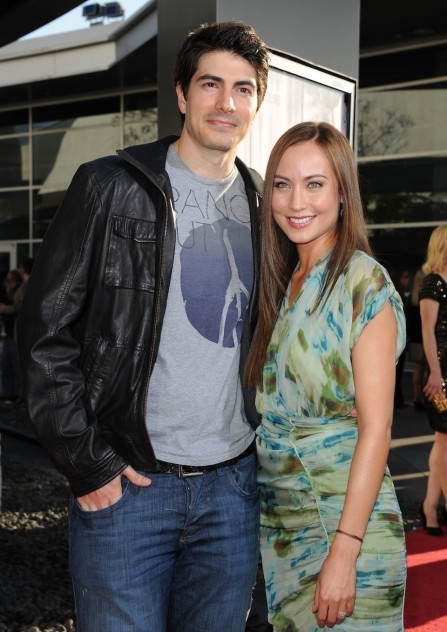 Brandon Routh Courtney Ford Expecting First Child Courtney Ford