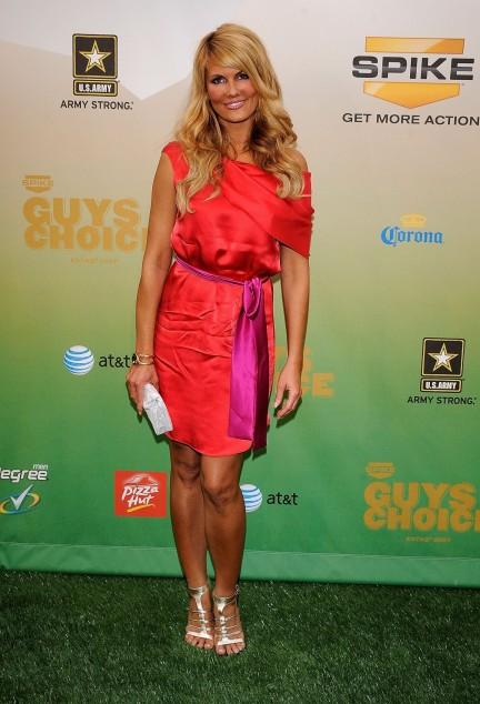Courtneyhansen Spike Tvs Guys Choice Awards Vettrinet Courtney Hansen
