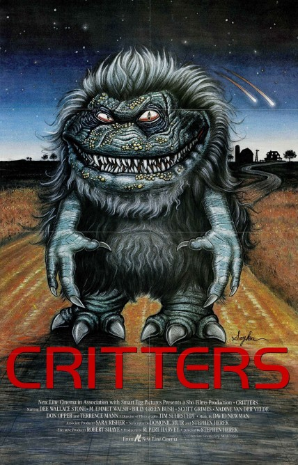 Critters Movie Poster Movie