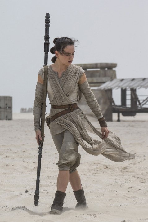 Daisy Ridley Star Wars Hair Rey