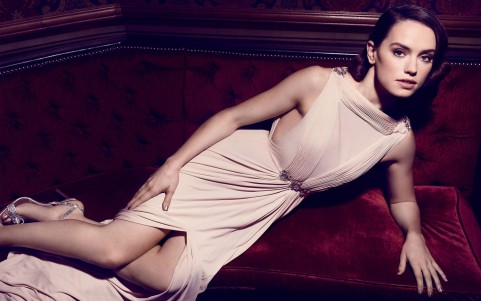 Star Wars Actress Daisy Ridley Wide