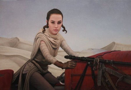 This Rey Inspired Piece Looks Quite Bit Like Actress Daisy Ridley Star Wars Character