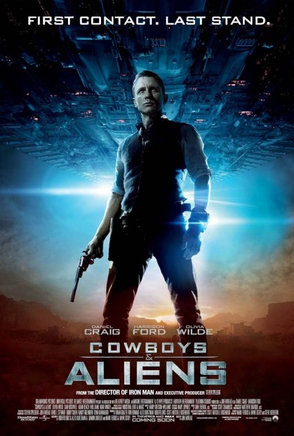 Cowboys Aliens Poster Daniel Craig As Jake Lonergan Cowboys And Aliens Hot