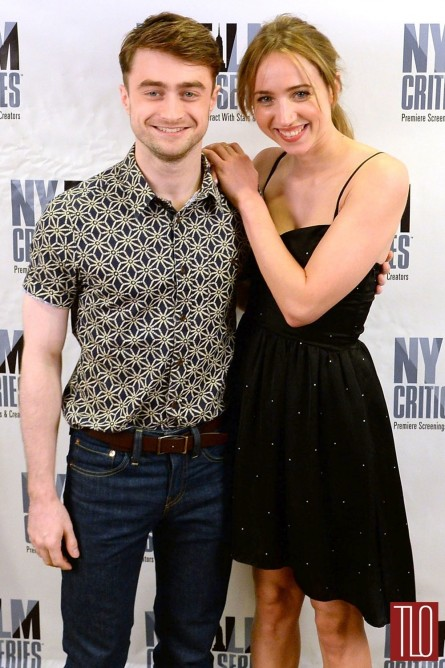 Daniel Radcliffe Zoe Kazan What If Nyc Screening Tom Lorenzo Site Tlo