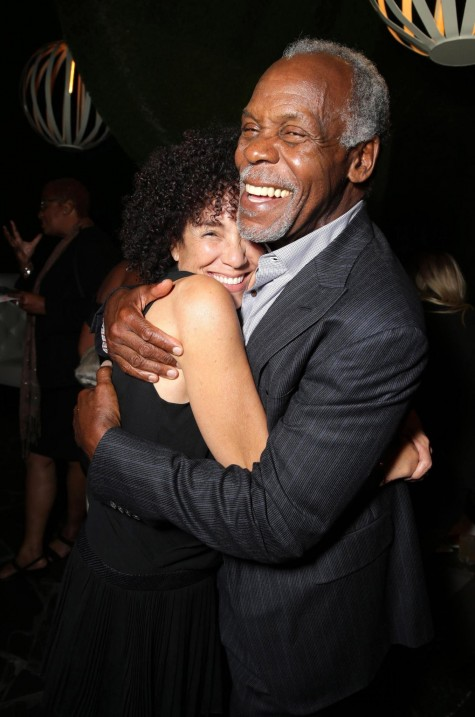 Danny Glover And Stephanie Allain At Event Of Beyond The Lights Large Picture Danny Glover