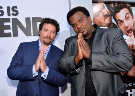 Craig Robinson And Danny Mcbride At Event Of This Is The End Large Picture Danny Mcbride