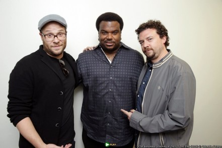 Director Writer Producer Seth Rogen Craig Robinson And Danny Mcbride This Is The End