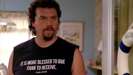 Tv Eastbound Down Kenny Powers Danny Mcbride Tshirts Blessed Give Than Receive Shirt Danny Mcbride