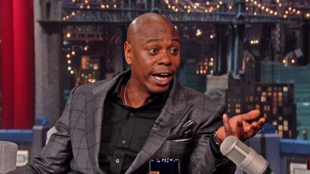 Letterman Asks Dave Chappelle Wh Wife