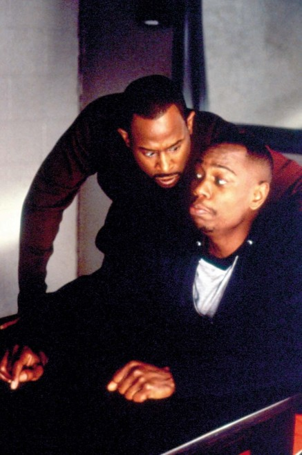 Martin Lawrence And Dave Chappelle In Blue Streak Dave Chappelle