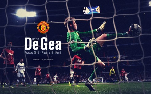 David De Gea Man Utd Wallpaper