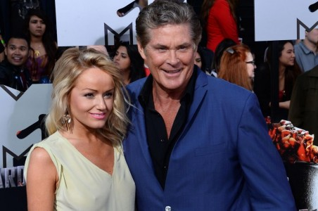 David Hasselhoff Announces Engagement To Girlfriend Hayley Robertslg David Hasselhoff
