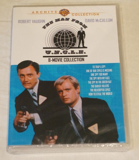 The Man From Uncle Movie Collection Dvd New Robert Vaughn David Mccallum Movies