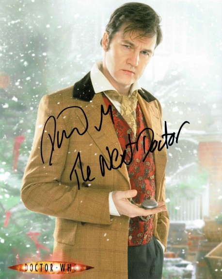 David Morrissey Autographed Doctor Who The Next Doctor Photo Doctor Who