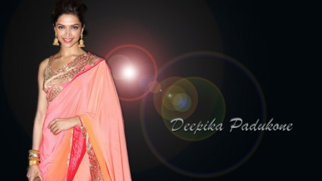 Deepika Padukone In Sarees Tv