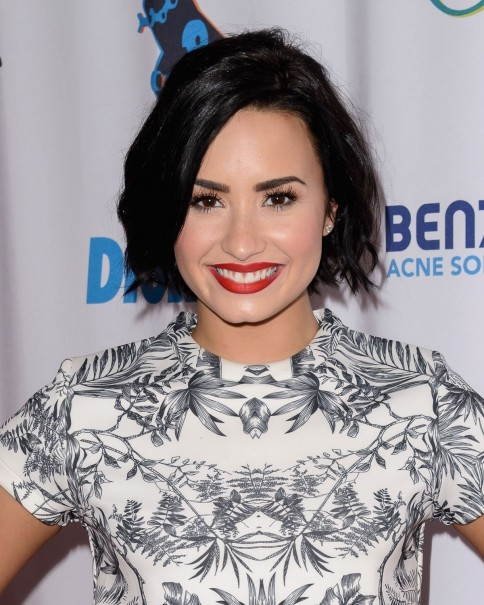 Demi Lovato Attends And Performs At The Mudd And Op Present Digifest At Citifield In New York City