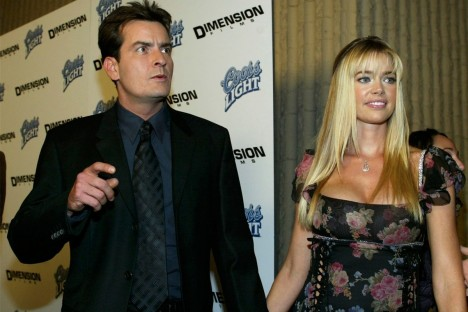 Charlie Sheen Denise Richards Denise Richards