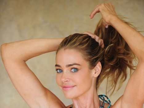 Denise Richards Michael Simon Bikini Shoot In Encino Denise Richards