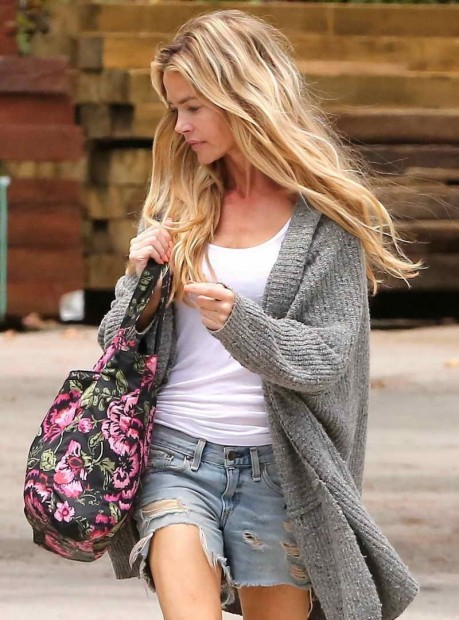 Denise Richards Out Shopping In Malibu Denise Richards