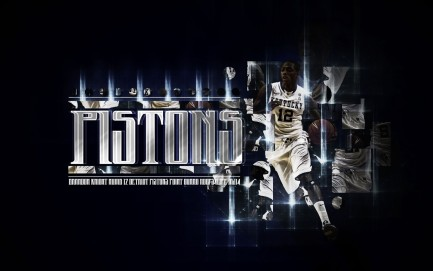 Detroit Pistons Wallpaper Hd Background Download Desktop Detroit Pistons