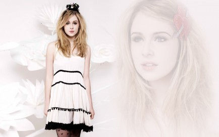 Actress Diana Vickers Wide Diana Vickers