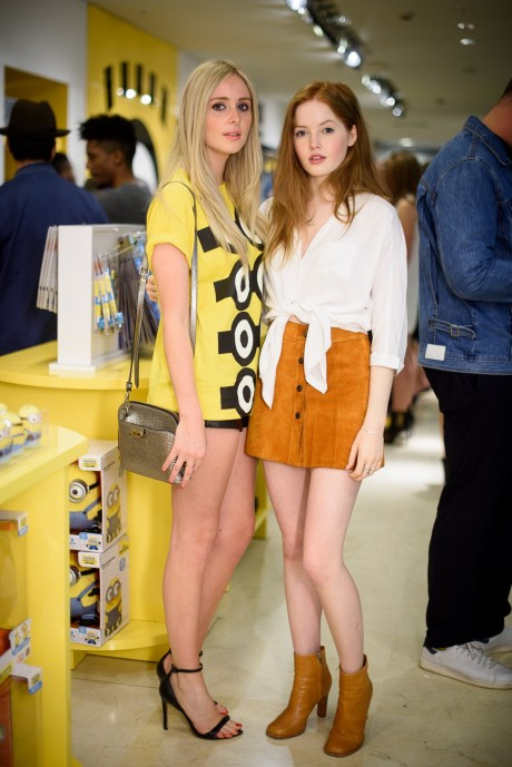 Diana Vickers And Ellie Bamber Diana Vickers