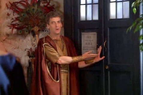 Is Peter Capaldi Playing The Doctor In Fires Of Pompeii Doctor Who