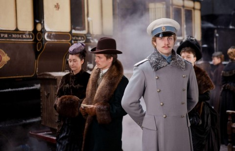 Picture Of Domhnall Gleeson And Alicia Vikander In Anna Karenina Large Picture Wallpaper Wallpaper