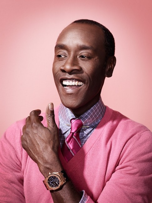 Doncheadle Hr Pink Don Cheadle
