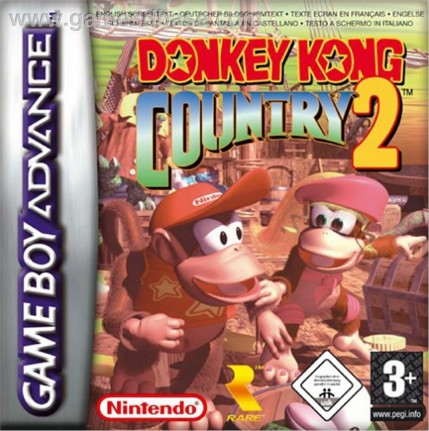 Donkey Kong Country Diddy Kong Quest Nintendo