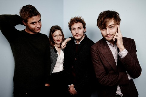 Holliday Grainger Max Irons Douglas Booth And Sam Claflin At Event Of The Riot Club Douglas Booth