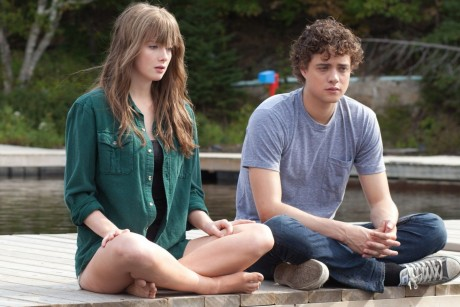Allie Macdonald Stars As Camilla Swanson And Douglas Smith Stars As Buddy Swanson In Stage Fright Movitnet