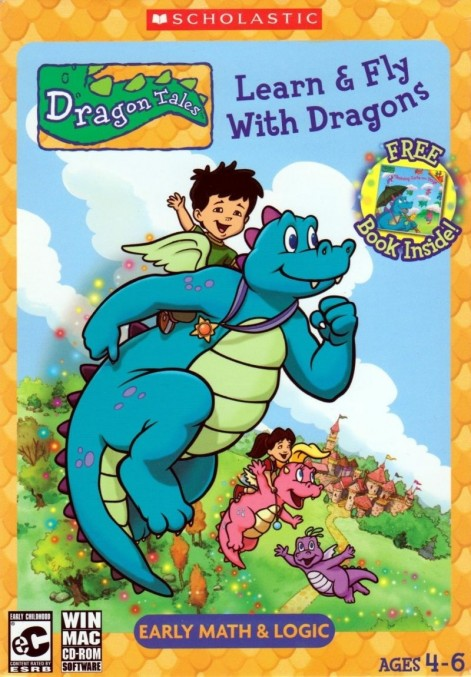 Dragon Tales Learn Fly With Dragons Macintosh Front Cover Dragon Tales