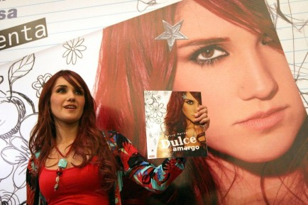 Dulce Maria Hot Bf Fd Ea Ab Large Wallpaper
