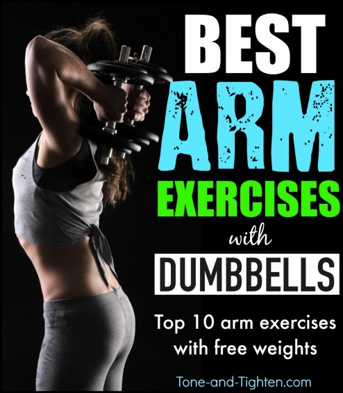 Best Arm Exercises With Dumbbells Weights Tone And Tighten Dumbbells