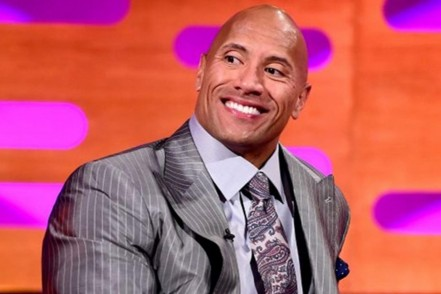 Graham Norton Dwayne Johnson Main Fashion