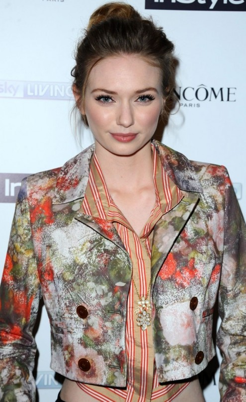 Eleanor Tomlinson Instyle Magazine The Best Of British Talent Pre Bafta Party In London February Eleanor Tomlinson