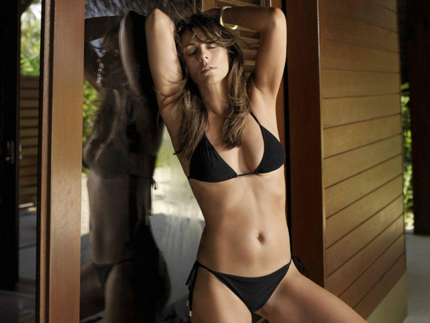 Elizabeth Hurley Bikini Photo