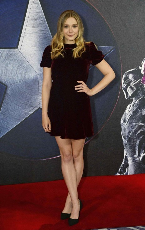 Elizabeth Olsen At The Captain America Civil War Photocall In London Elizabeth Olsen
