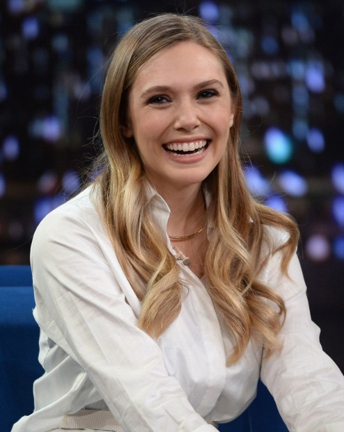 Elizabeth Olsen Beige Champagne Blond Hair Color Main