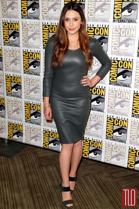 Elizabeth Olsen Comic Con Red Carpet The Row Prada Tom Lorenzo Site Tlo