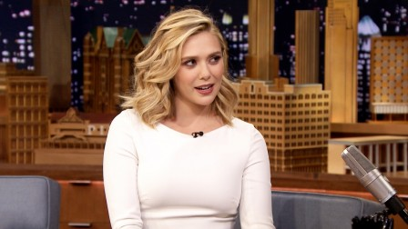 Elizabeth Olsen Feels Like Backup Singer