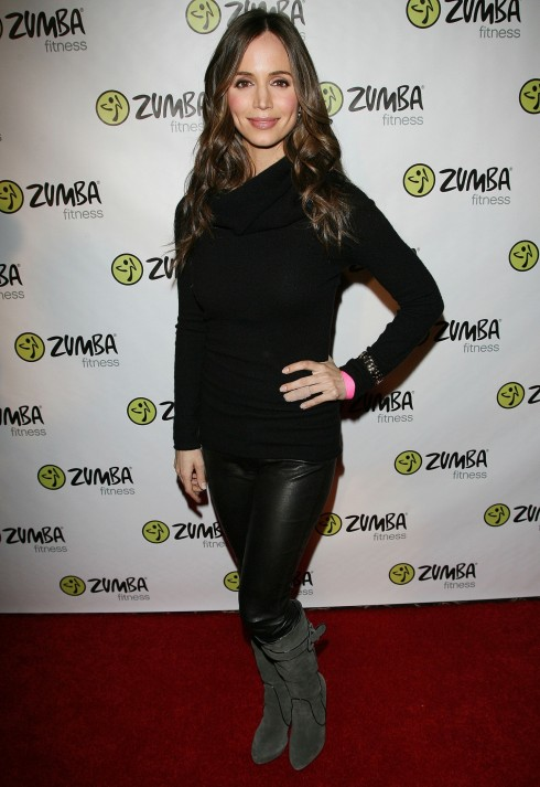 Zumba Fitness Launches The Exhilarate Dvd Collection Eliza Dushku