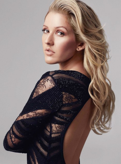 Ellie Goulding Marie Claire Uk February Ellie Goulding