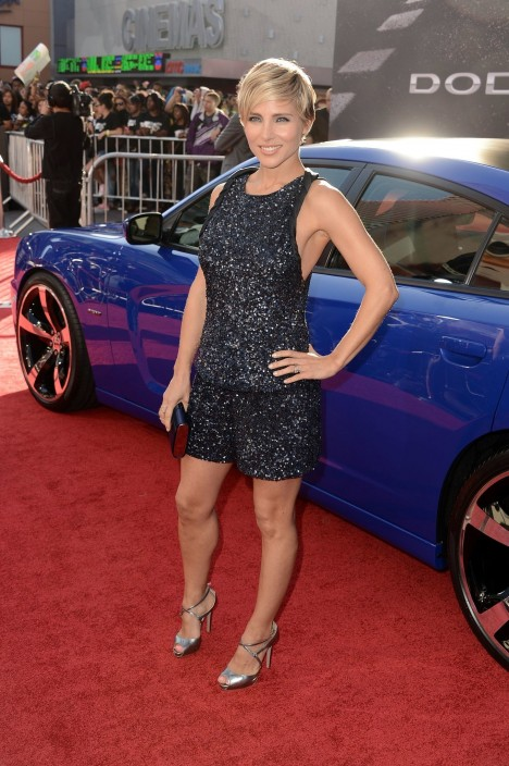 Actress Elsa Pataky Premiered Her Latest Film Fast Amp Furious Elsa Pataky